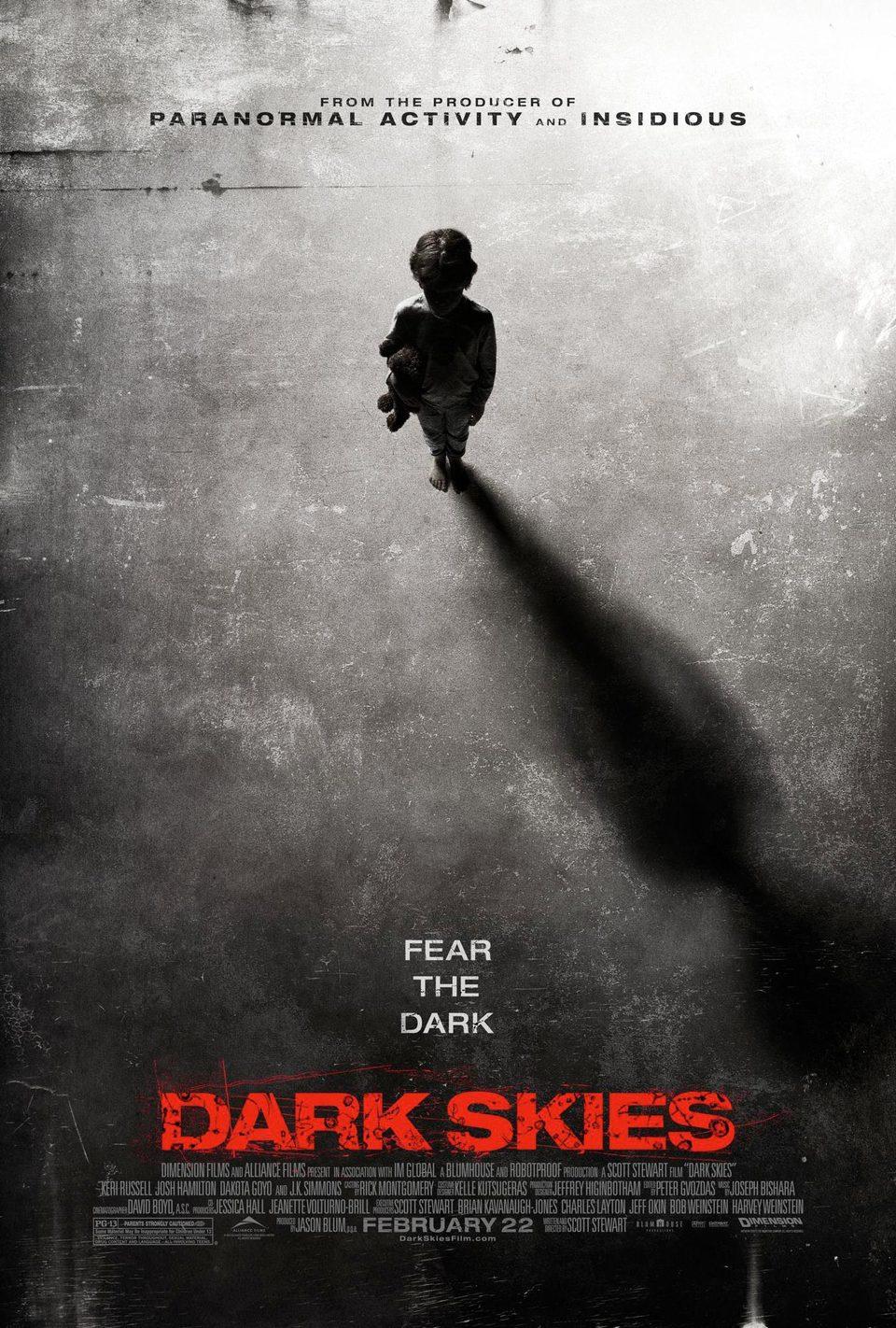 Cartel EEUU de 'Dark Skies'