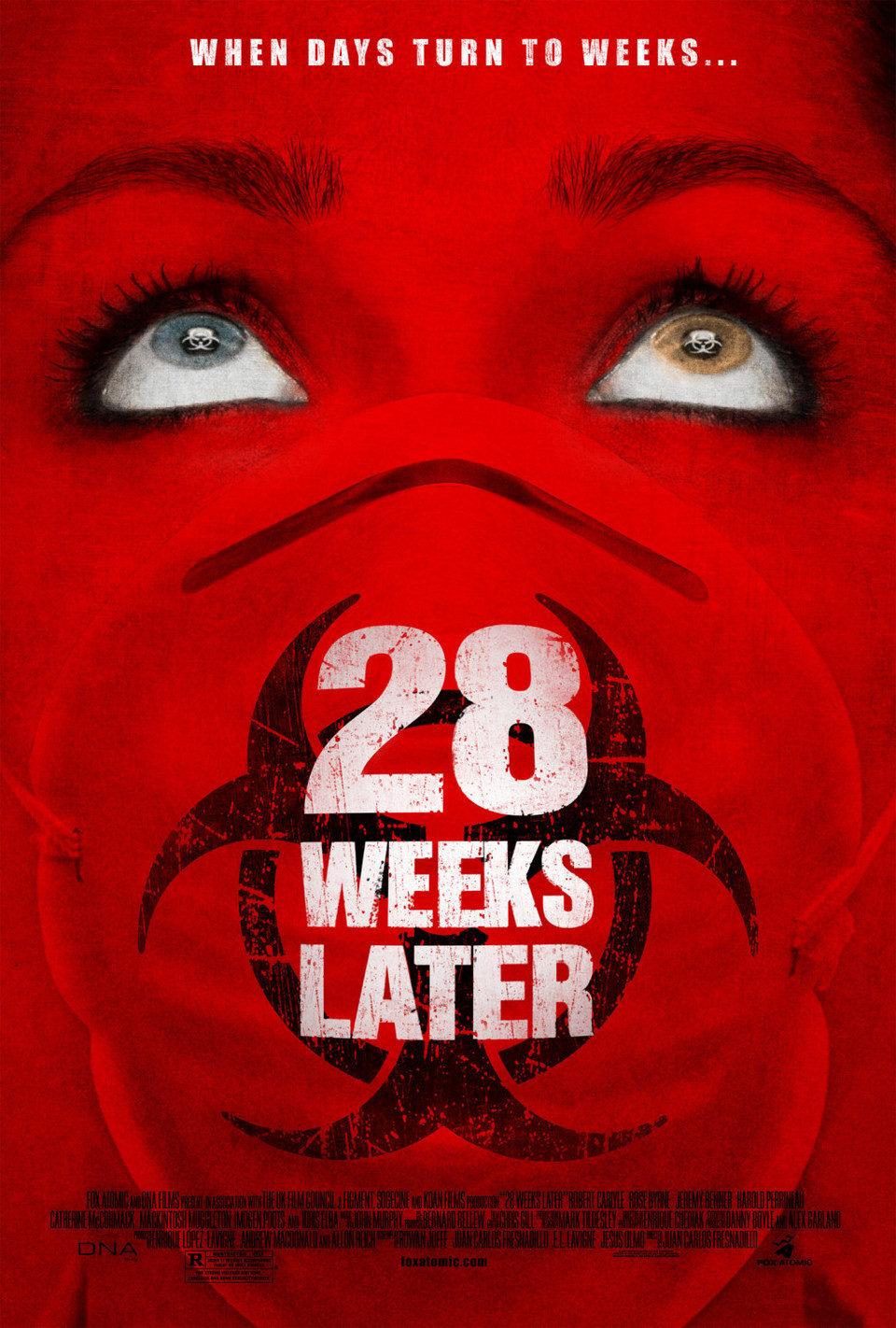 Cartel Estados Unidos de '28 semanas después'