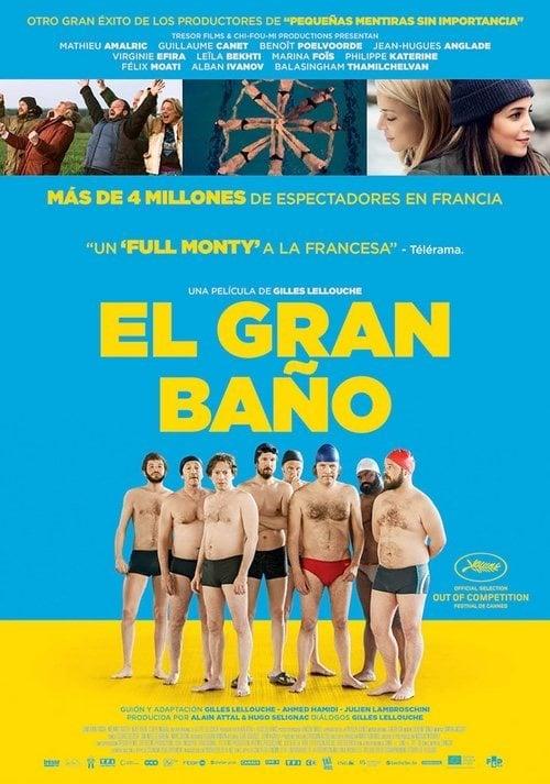 Cartel España de 'El gran baño'
