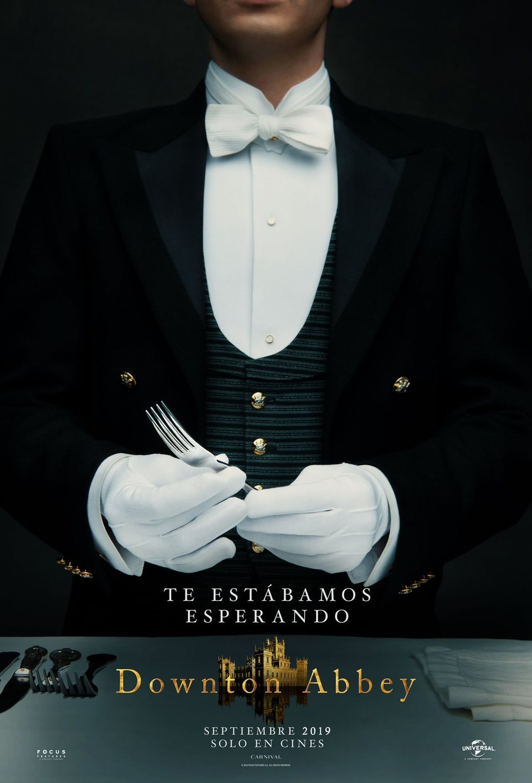Cartel PÓSTER ANDY de 'Downton Abbey'