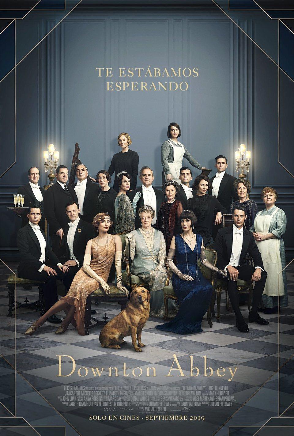 Cartel PÓSTER ESPAÑA de 'Downton Abbey'