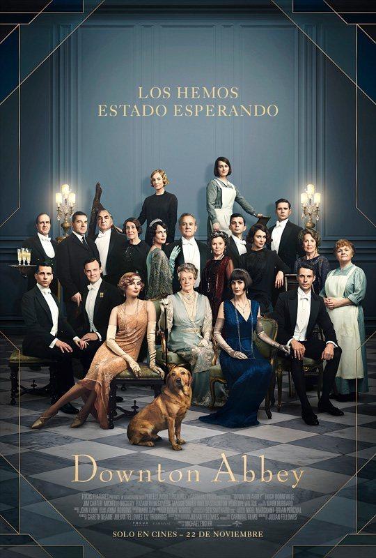 Cartel PÓSTER MÉXICO de 'Downton Abbey'