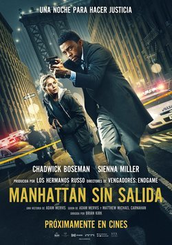 Cartel de Manhattan sin salida