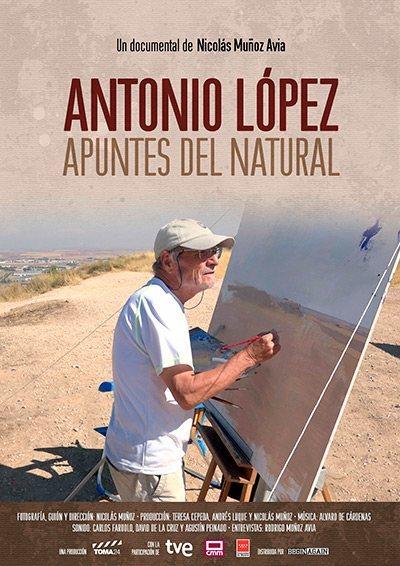 Antonio López. Apuntes del natural (2019)