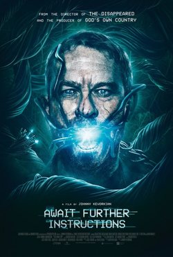 Cartel de Await Further Instructions