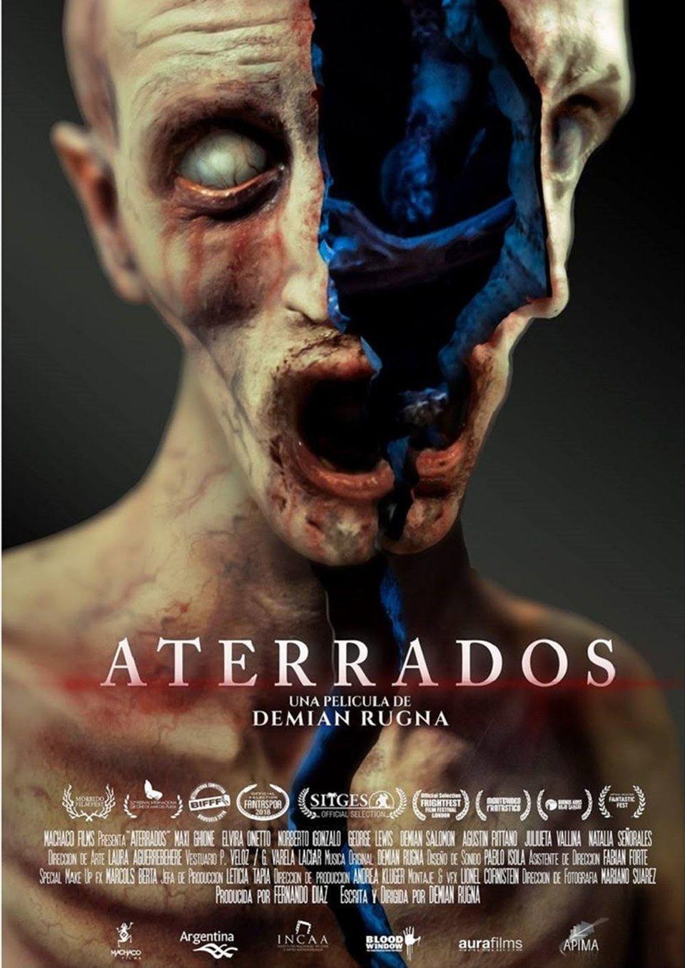 Cartel Aterrados Poster de 'Aterrados'