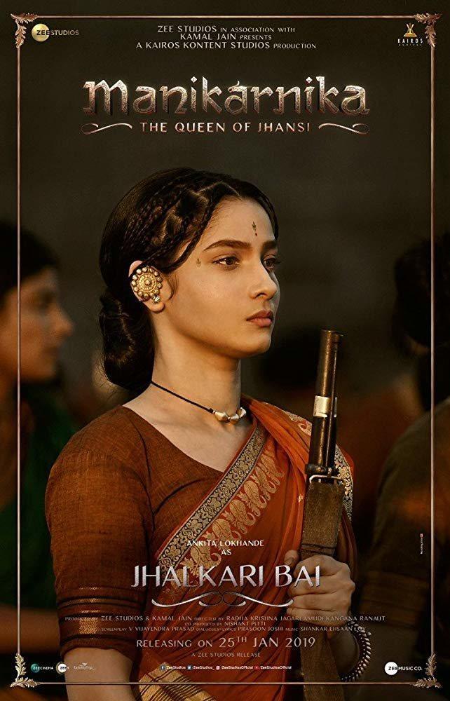 Cartel Manikarnika: The Queen Of Jhansi de 'Manikarnika: The Queen Of Jhansi'