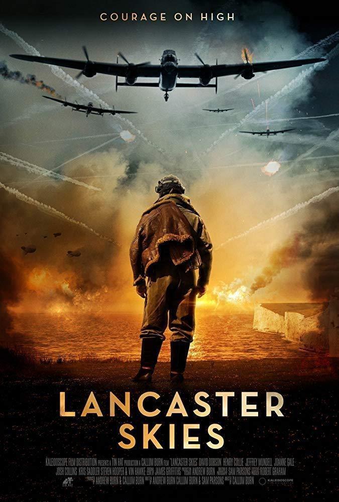 Cartel Poster UK de 'Lancaster Skies'