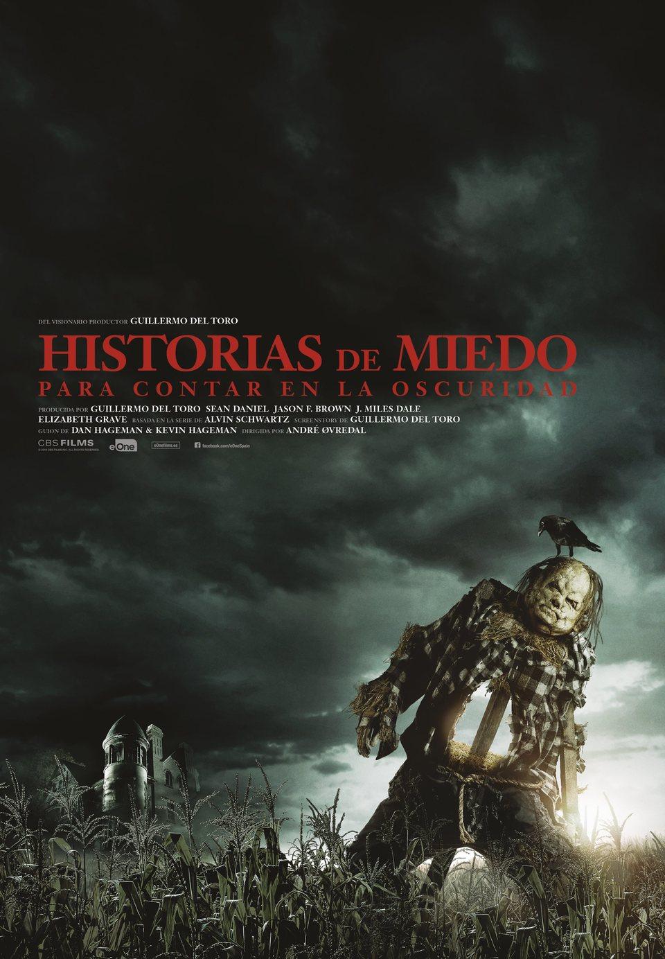 Cartel Póster 'Historias de miedo para contar en la oscuridad' de 'Historias de miedo para contar en la oscuridad'