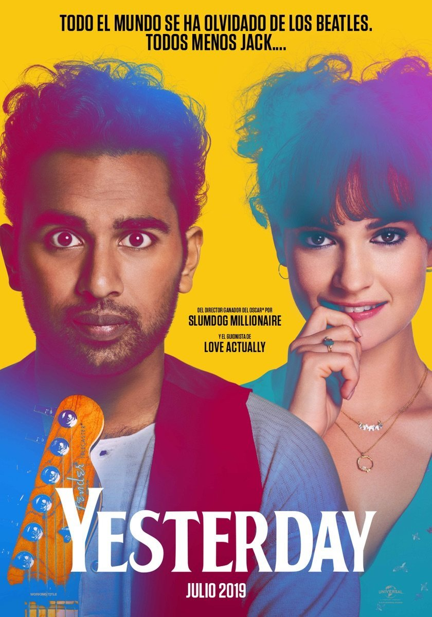 Cartel España de 'Yesterday'