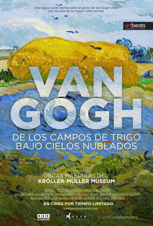 Van Gogh de los campos de trigo bajo los cielos nublados (2018)