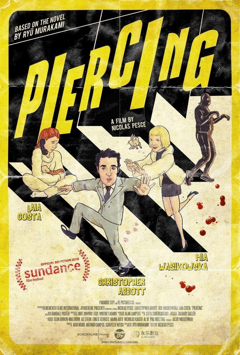 Cartel Póster 'Piercing' #1 de 'Piercing'