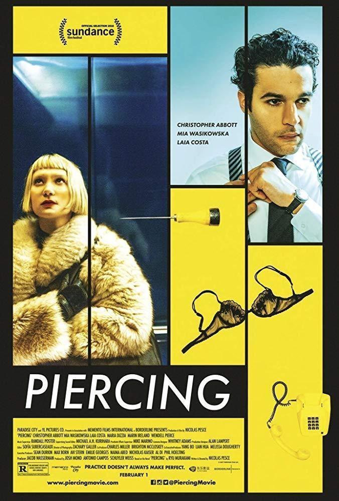 Cartel Póster 'Piercing' #2 de 'Piercing'
