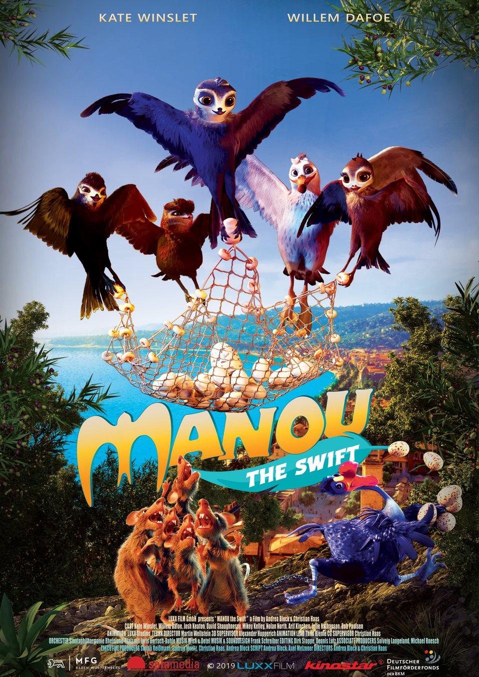Cartel Poster 'Manou: The swift' de 'Manou'