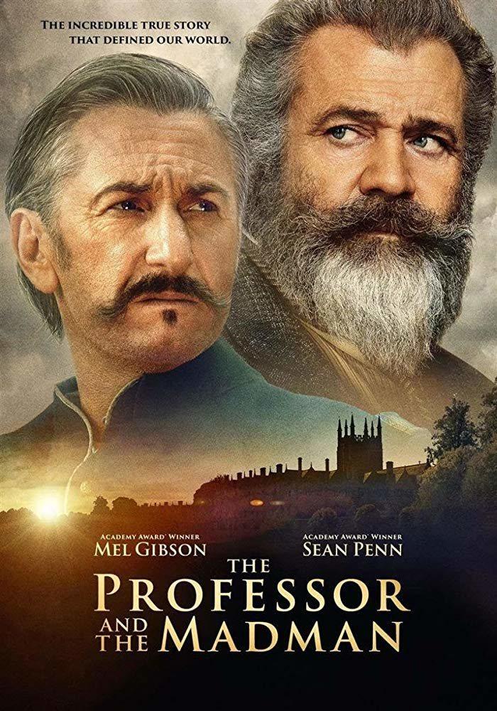 Cartel Inglés de 'The Professor and the Madman'