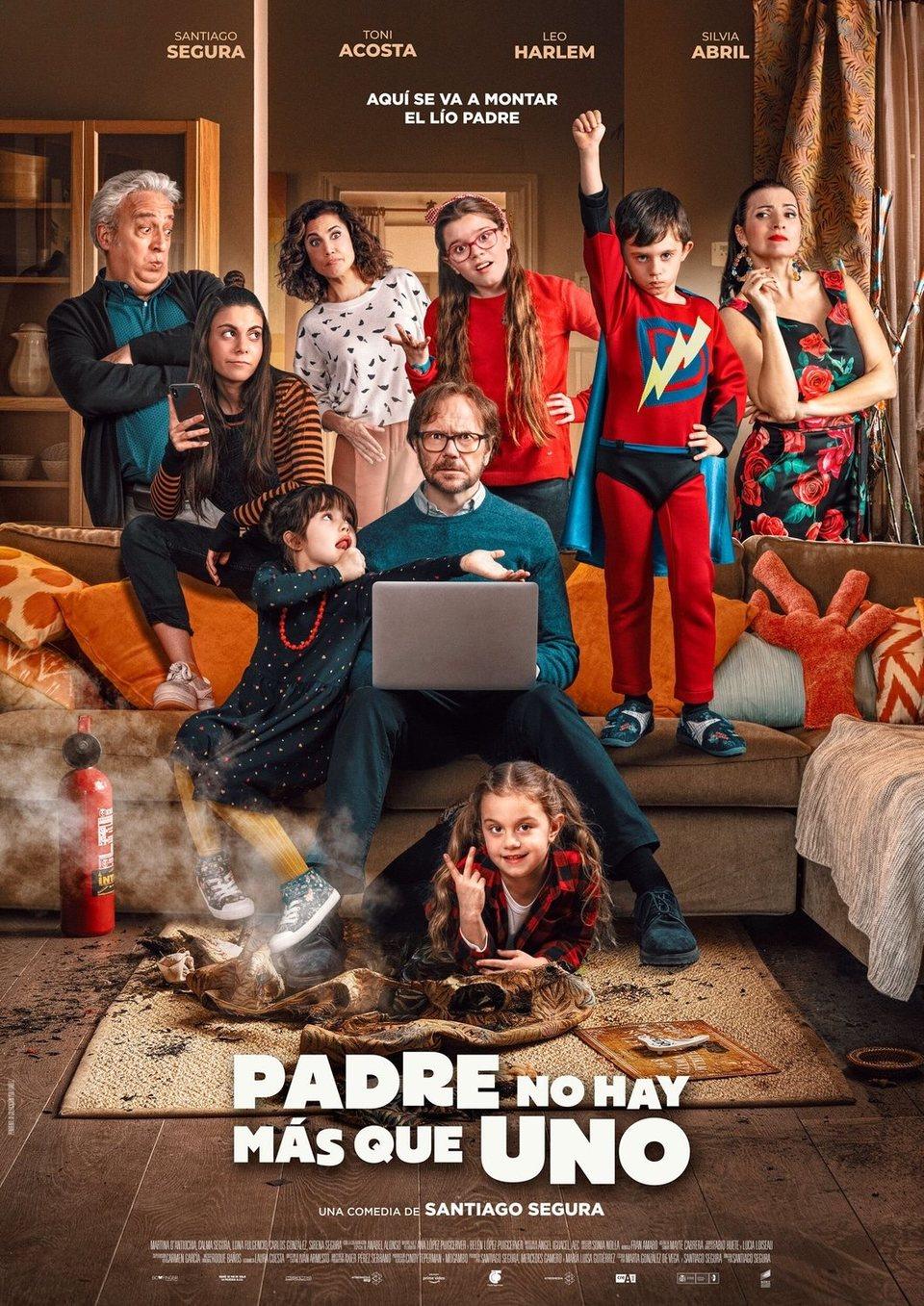 Cartel España #2 de 'Padre no hay más que uno'