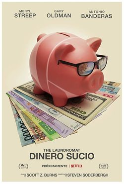 Cartel de The Laundromat: Dinero sucio