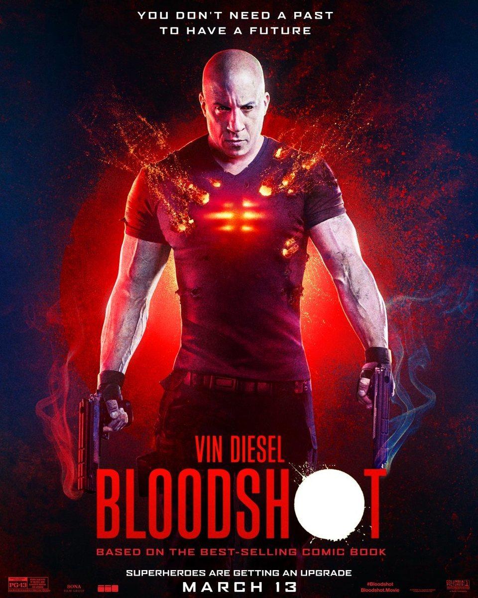 Cartel Póster inglés de 'Bloodshot'
