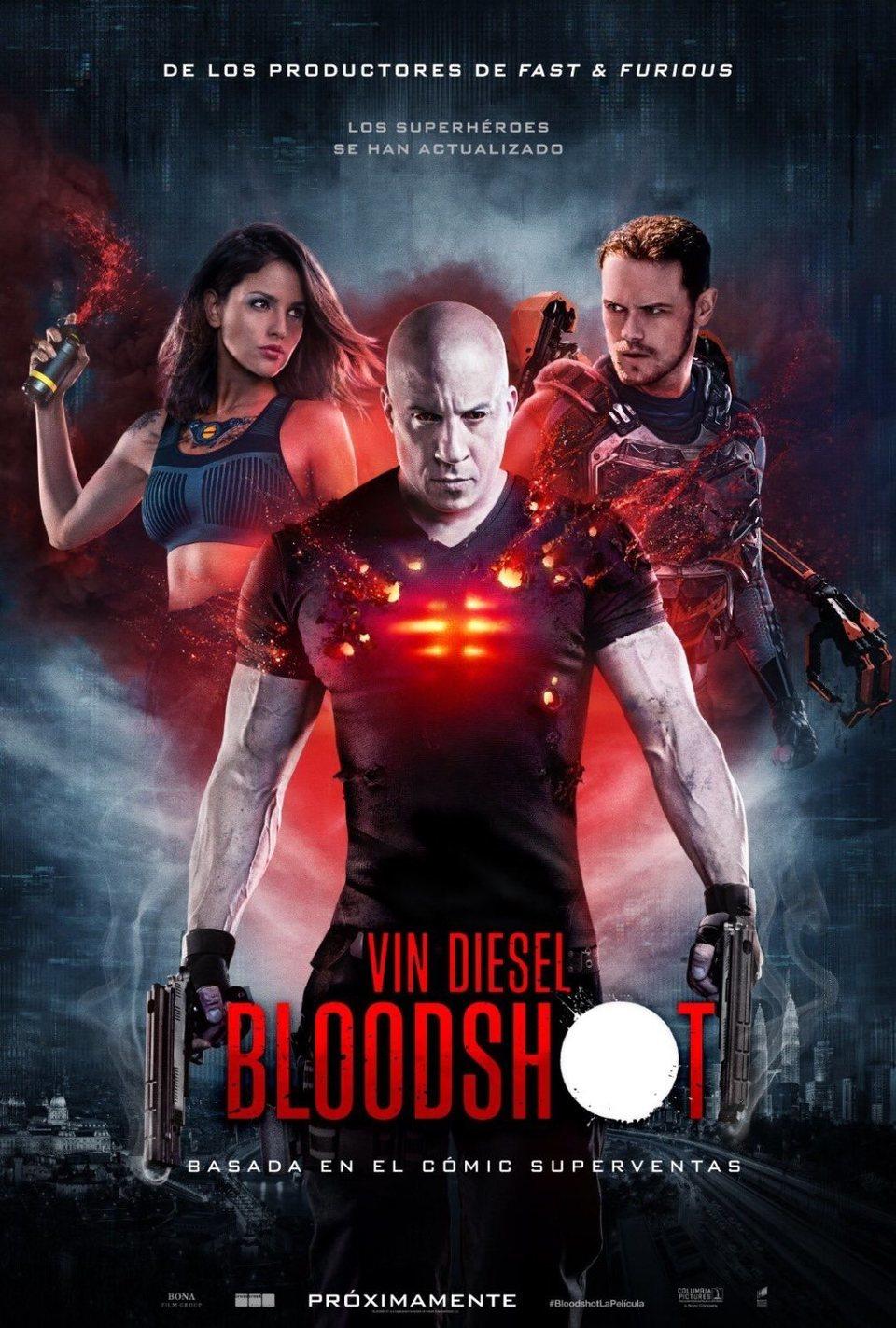 Cartel Póster español de 'Bloodshot'