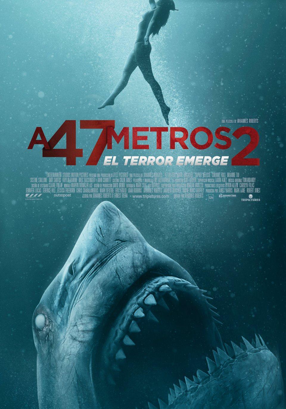 Cartel 'A 47 metros 2: El terror emerge' de 'A 47 metros 2: El terror emerge'