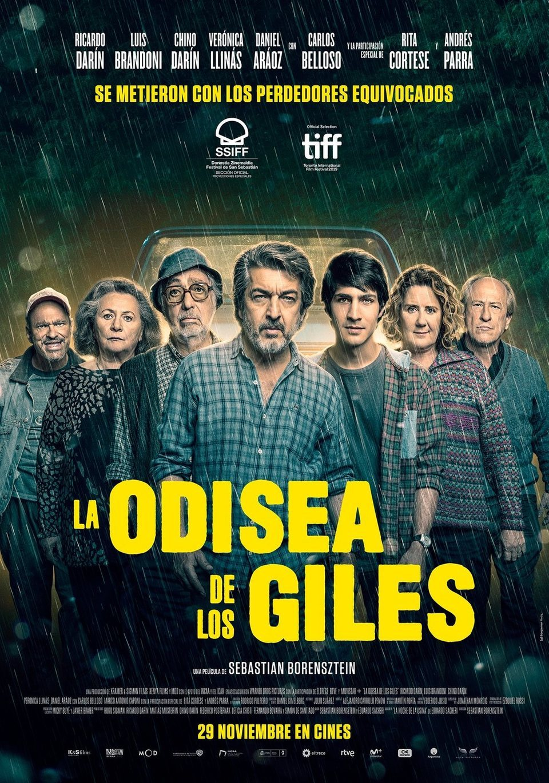 Cartel Cartel final 'La odisea de los Giles' de 'La Odisea de los Giles'