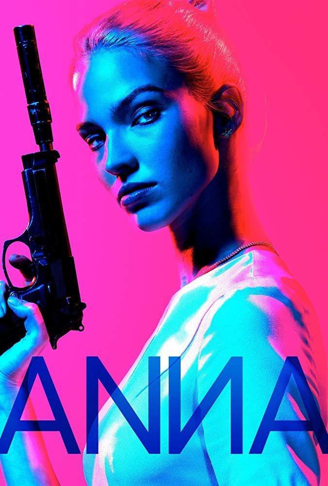 Cartel Sasha Luss #2 de 'Anna'