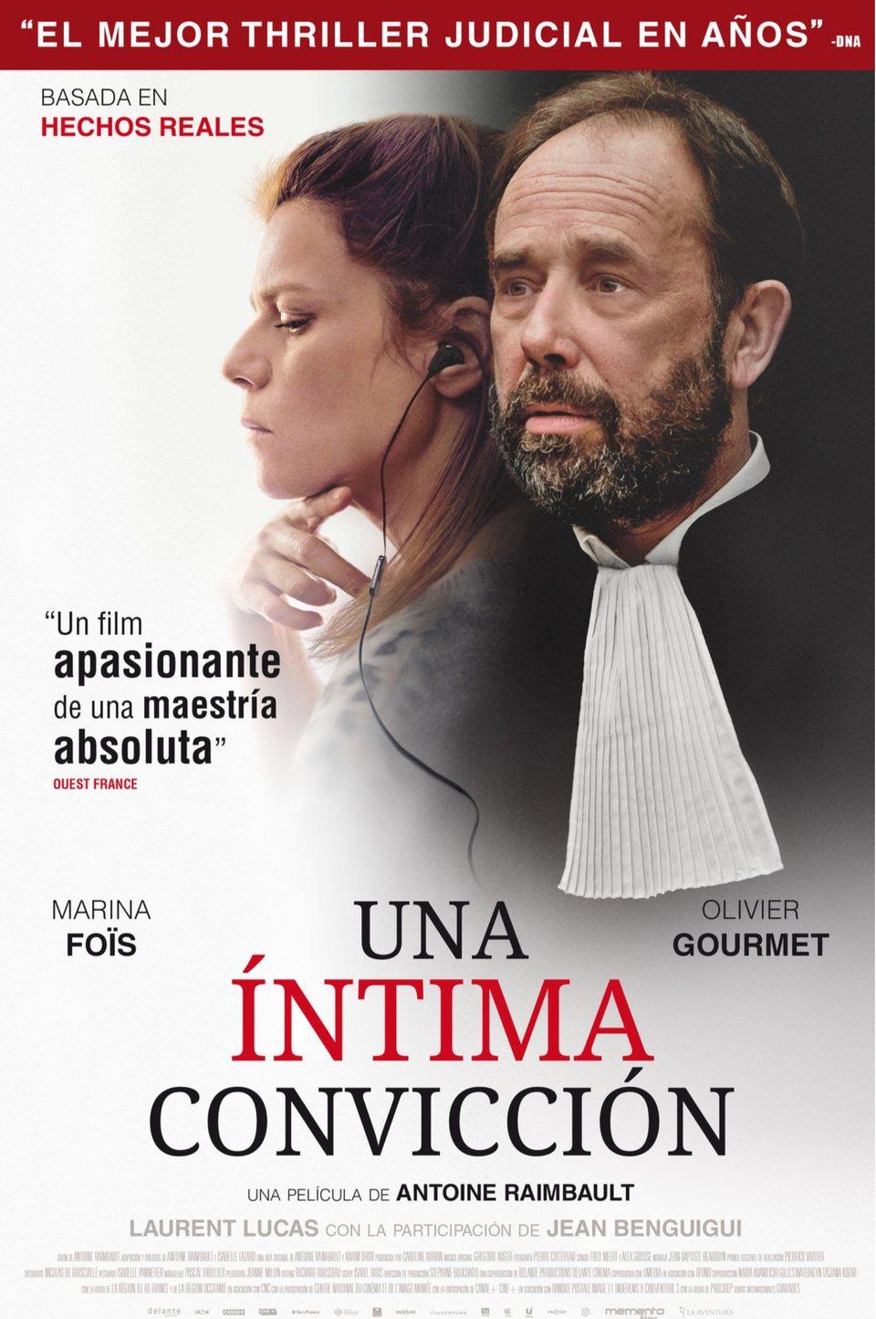 Cartel España de 'Una íntima convicción'