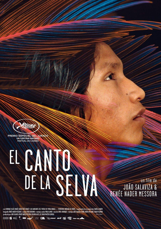 Cartel España de 'El canto de la selva'