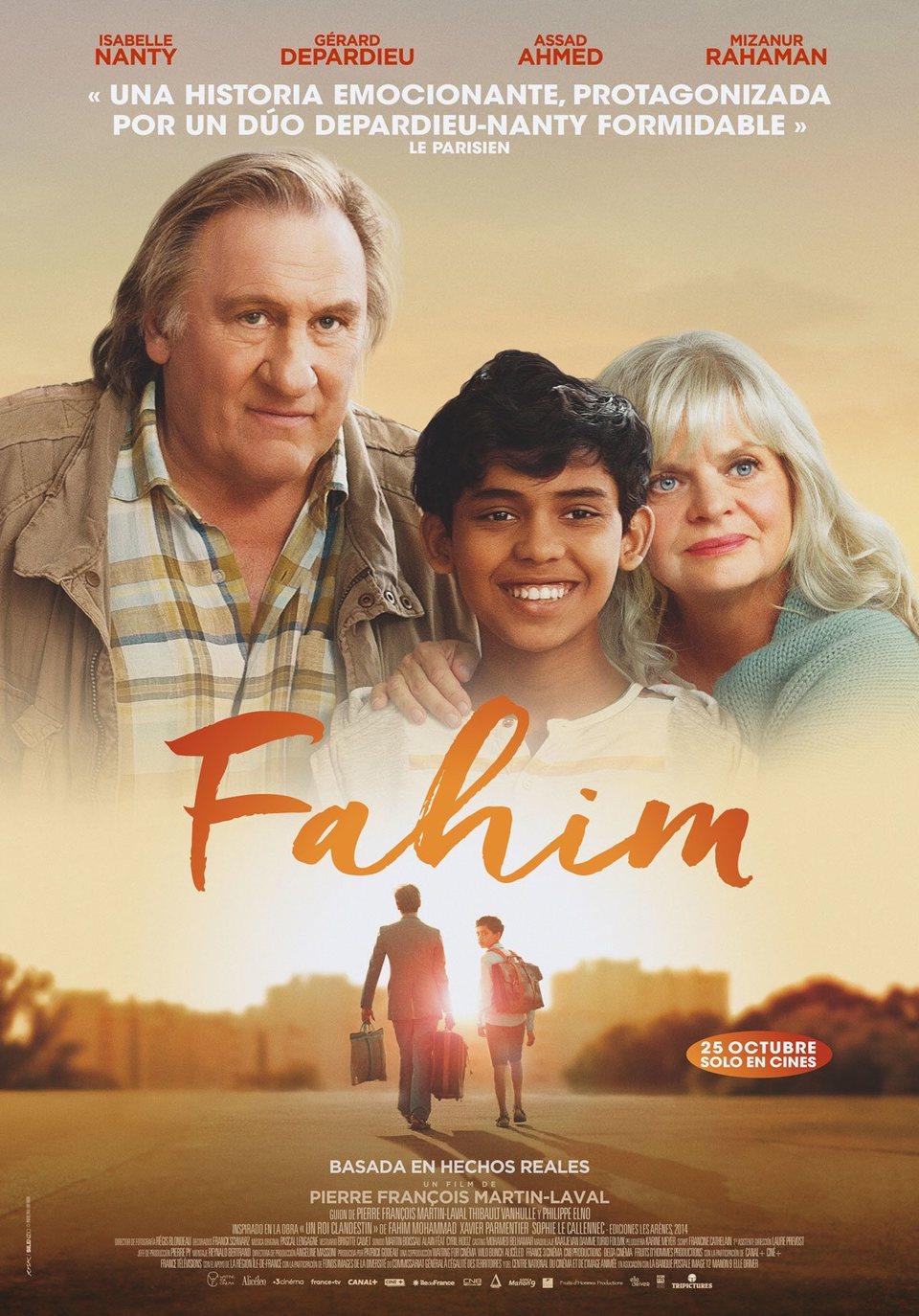 Cartel España #1 de 'Fahim'