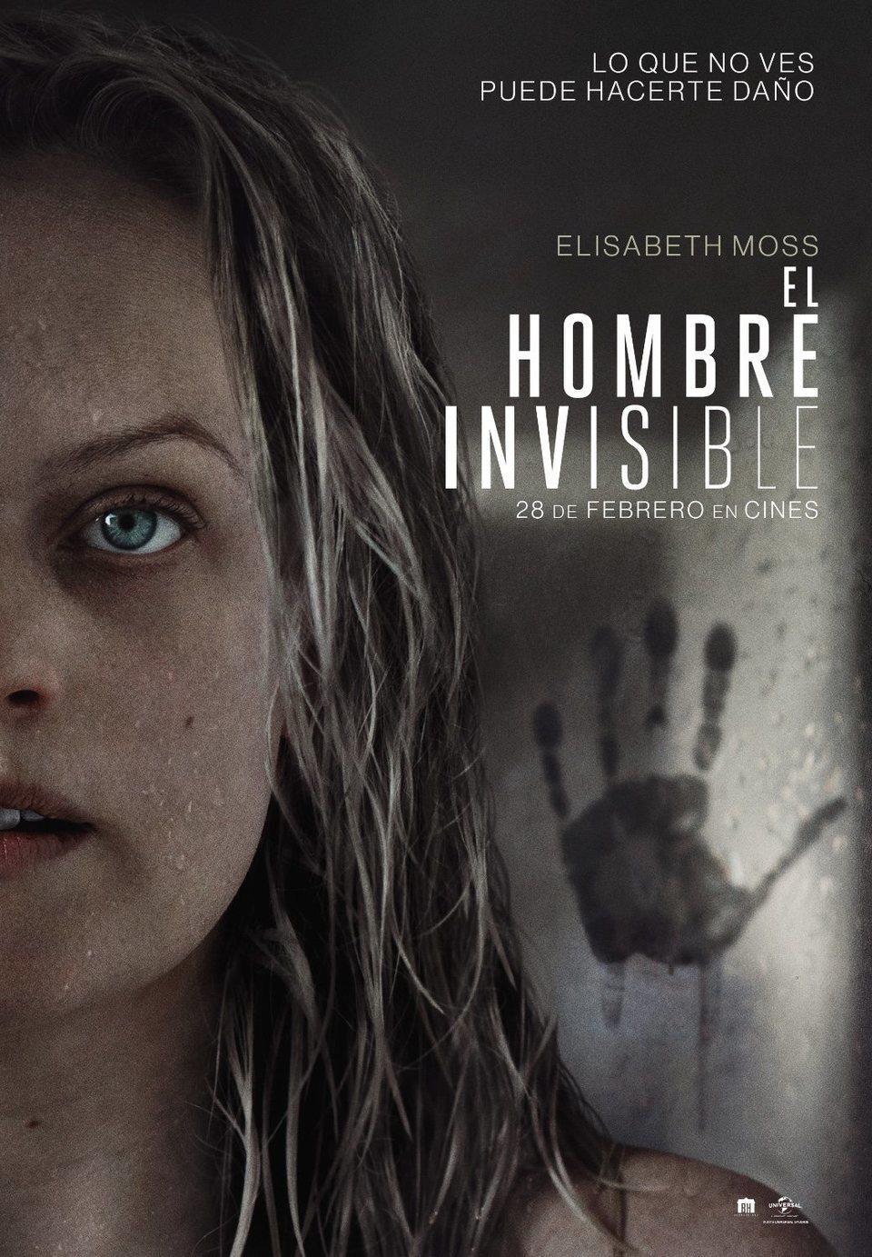 Cartel Póster español de 'El hombre invisible'