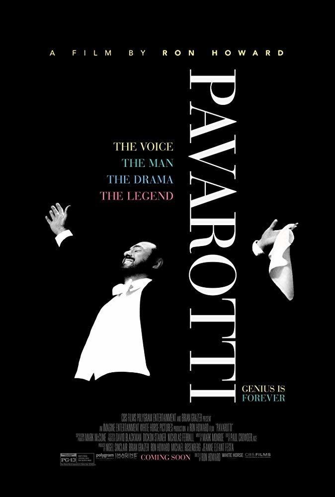 Cartel Poster de 'Pavarotti'