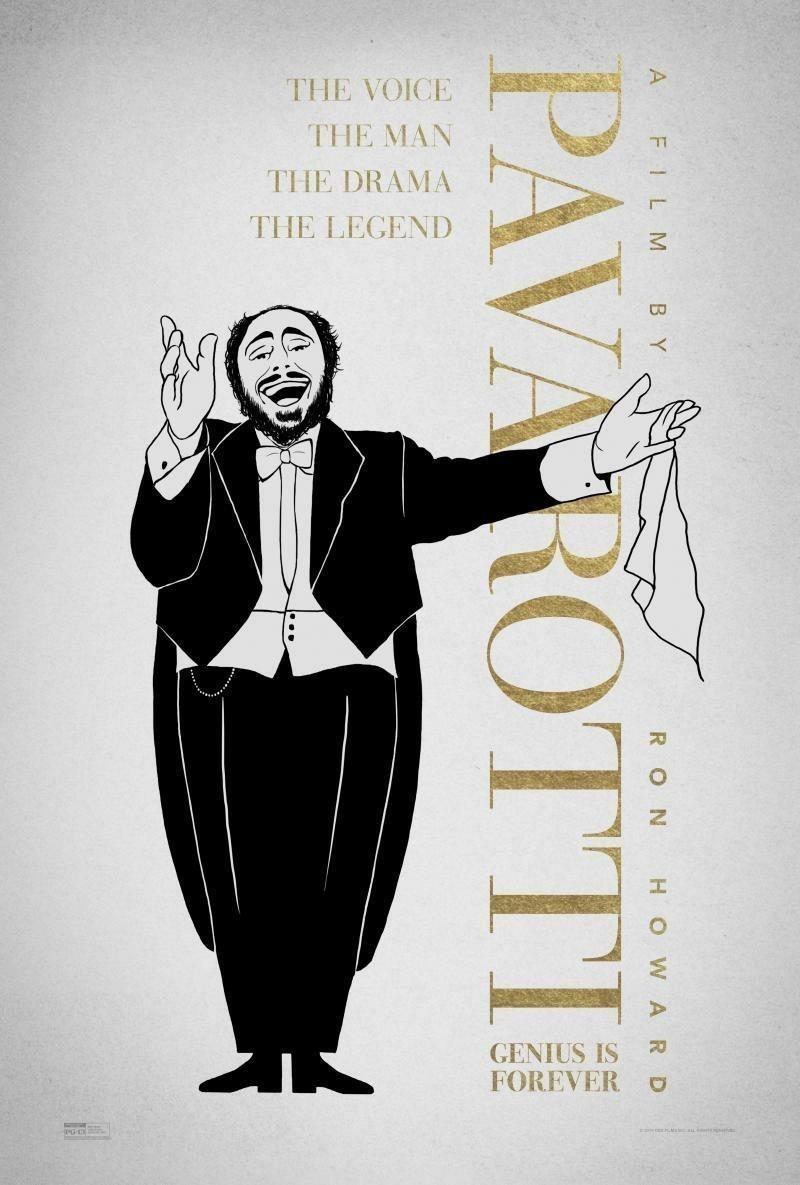 Cartel Poster #2 de 'Pavarotti'