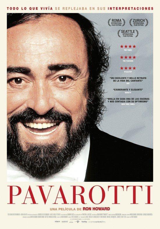 Cartel Pavarotti de 'Pavarotti'