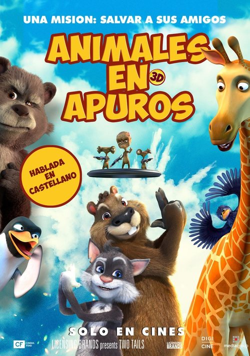 Animales en apuros (2018) streaming
