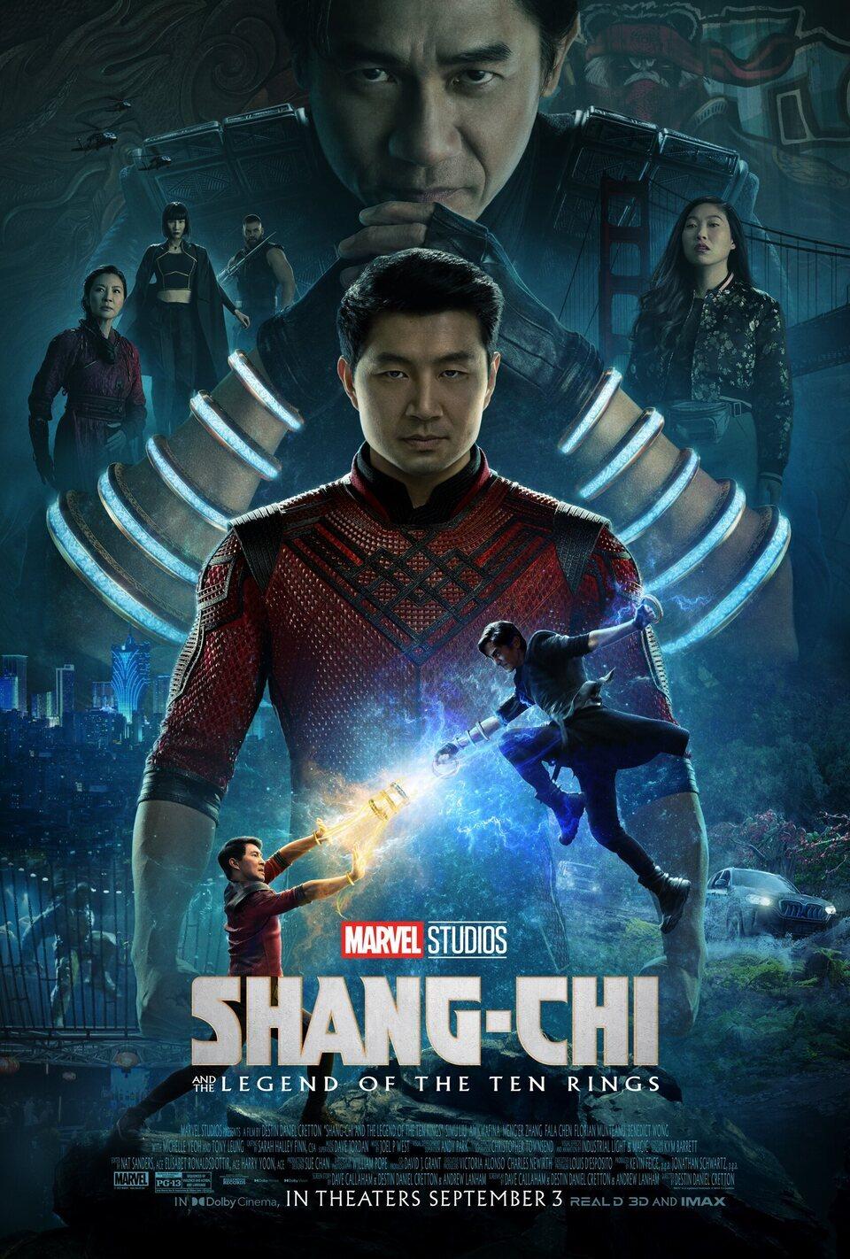 Cartel Póster final de 'Shang-Chi y la leyenda de los diez anillos'