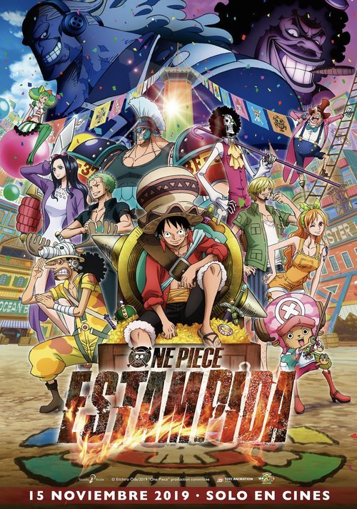 One Piece: Estampida (2019)