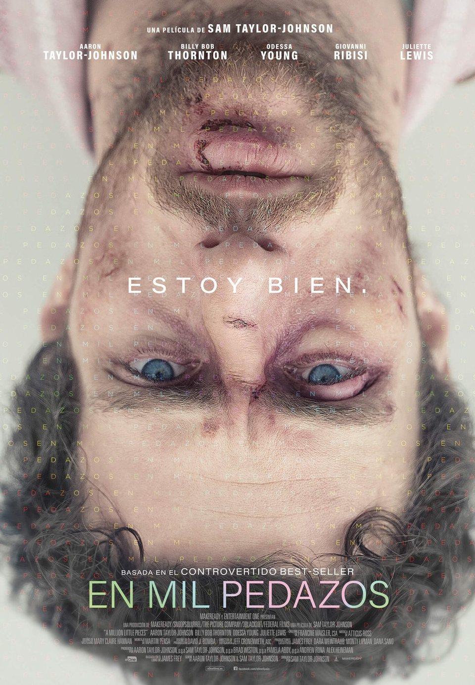Cartel Español de 'En mil pedazos'