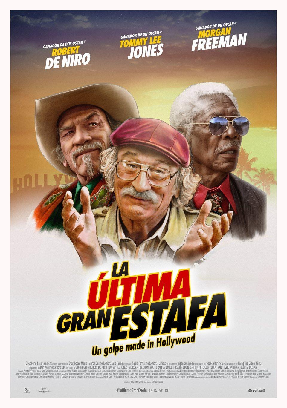 Cartel España de 'La última gran estafa'