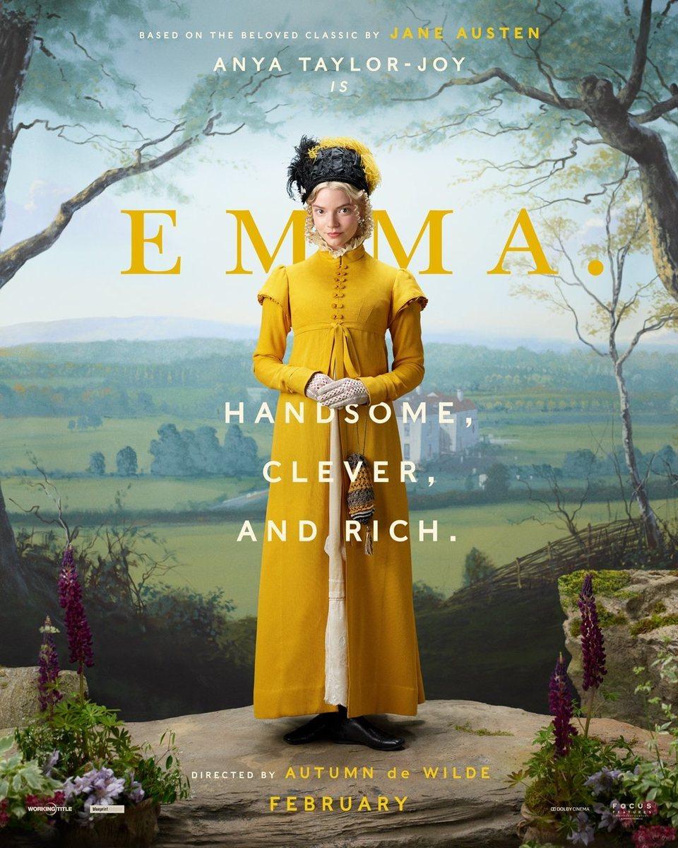 Cartel Póster inglés 'Emma' de 'Emma'