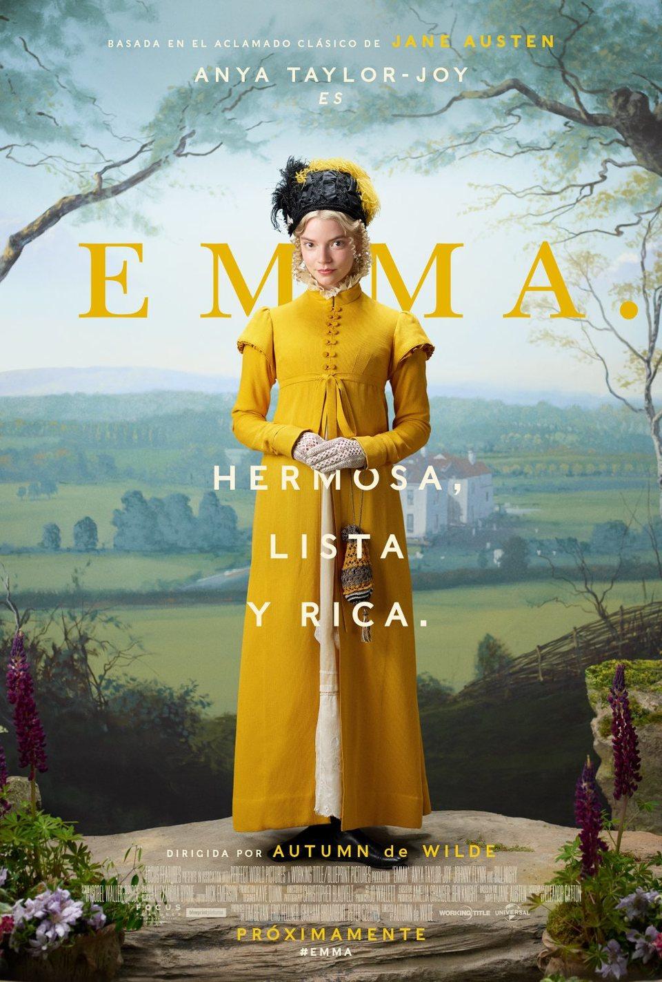 Cartel Póster español 'Emma' de 'Emma'