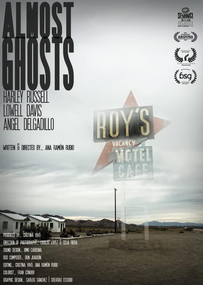 Cartel Almost Ghosts de 'Almost Ghosts'