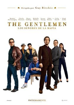 Cartel de The Gentlemen: Los señores de la mafia