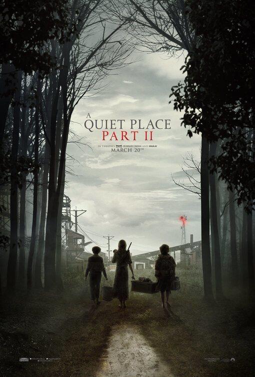 Cartel Un Lugar Tranquilo 2 de 'Un lugar tranquilo 2'