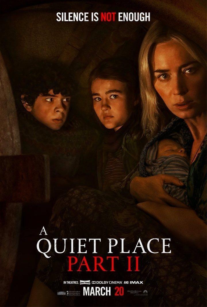 Cartel EE.UU. #2 de 'Un lugar tranquilo 2'