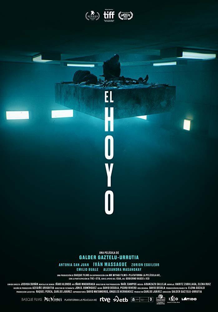 Cartel España de 'El Hoyo'