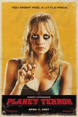 Cartel de Grindhouse: Planet Terror