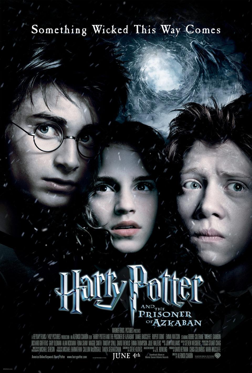 Cartel Estados Unidos de 'Harry Potter y el prisionero de Azkaban'