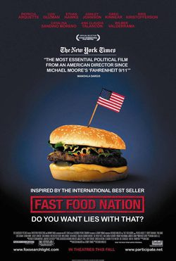 Cartel de Fast Food Nation