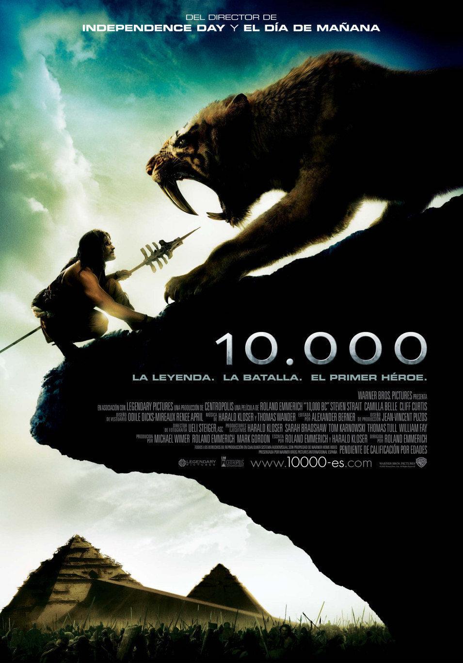 Cartel España de '10.000'