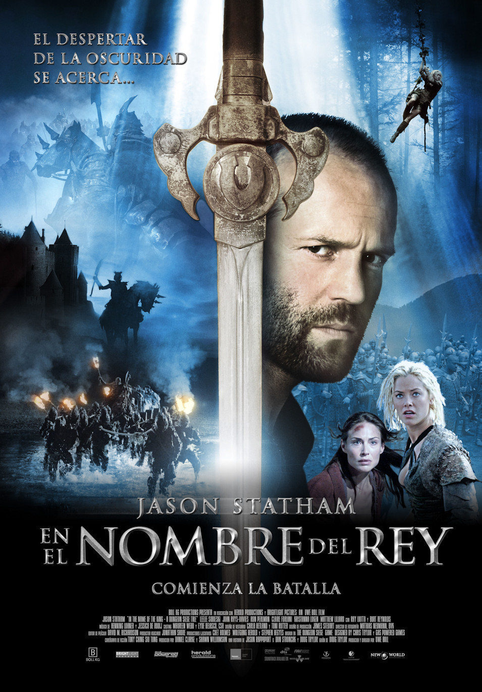Cartel España de 'En el nombre del rey'